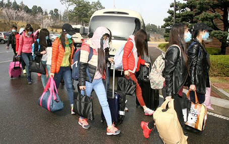 북한 식당 집단 탈출