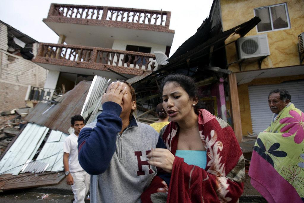 지진 에콰도르1