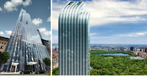 ▲ 뉴욕 센트럴파크앞 원57빌딩