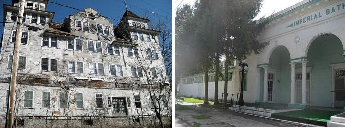▲(왼쪽) 애들러호텔 ▲ 임페리얼베쓰하우스