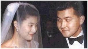 ▲ 1999년 1월 결혼당시의 홍정욱-손정희부부