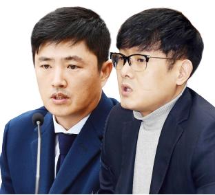 ▲ 이시형씨는 지난 7월말 자신의 마약 투약 의혹을 제기한 고영태씨(왼쪽)와 박헌영 전 K스포츠재단 과장을 고소한 것으로 드러났다.