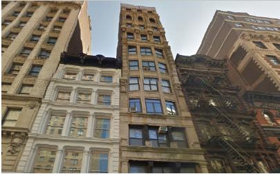 ▲ 유디치과 김종훈 대표가 매입한 뉴욕 맨해튼 브로드웨이 736 건물(구글지도)
