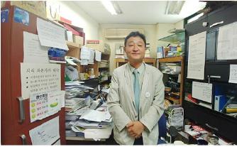 ▲ 허인회 녹색드림협동조합 대표 [출처 2017년 8월 레이버플러스 인터뷰 사진]