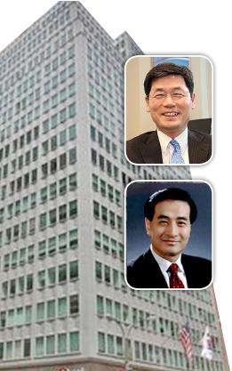 ▲ 경질된 김기환 뉴욕총영사(위), 신임 박효성 전 루마니아 대사.
