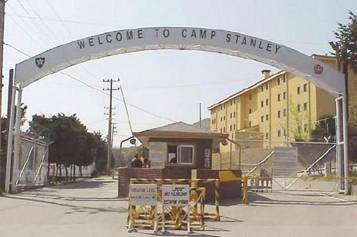 ▲ 의정부인근 캠프스탠리기지 - 지난해 12월 반환이 이뤄지지 않고 현재도 미군이 육군기지로 사용하고 있다.