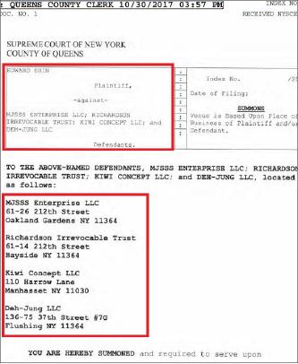 ▲ 신응수 노아은행장이 지난 4월 룸싸롱 추락사건과 관련,룸싸롱이 입주한 건물의 당시 소유주를 상대로 소송을 제기했다