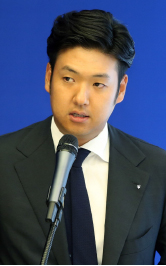 ▲ 이희상씨의 외동아들 이건훈 씨.