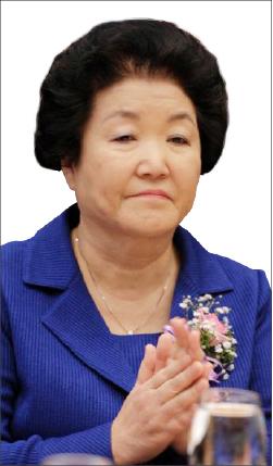 ▲ 조용기목사의 부인 김성혜씨