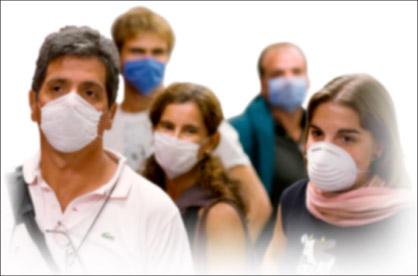 독감환자들