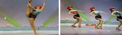 ▲ 유투브에 나오는 현송월의 뮤직비디오 장면
