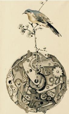 ▲ 구본아 - 태엽을 감는 새