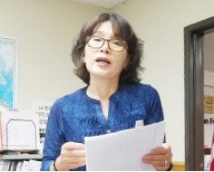 ▲ 김재문 자원봉사자