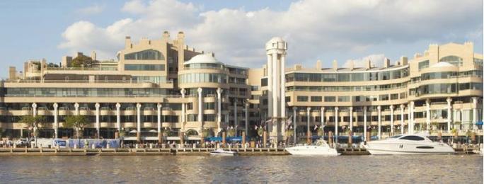▲ 우정사업본부등이 2013년 매입한 워싱턴DC의 워싱턴하버빌딩