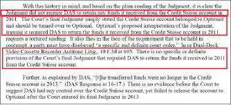 ▲ 연방법원은 지난달 28일 판결에서 '지난 2013년 판결문에 다스에게 2011년 스위스계좌에서 받은 돈을 반환하라는 내용이 없으므로 다스는 판결문을 위반한 사실이 없다'고 밝혔다.
