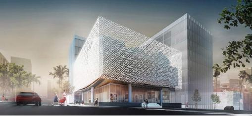 """▲한미박물관은 지난 2015년에는 7층 복합문화센터로 """"아파트 박물관"""" 소리를 들었다."""