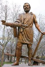 ▲ 「독재자」 신시나투스 동상