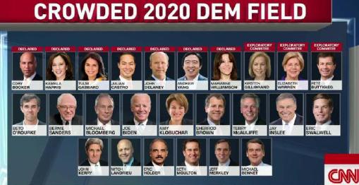 ▲ 민주당 2020년 대선후보군에 여성 예비후보도 6명이나 되고있다.
