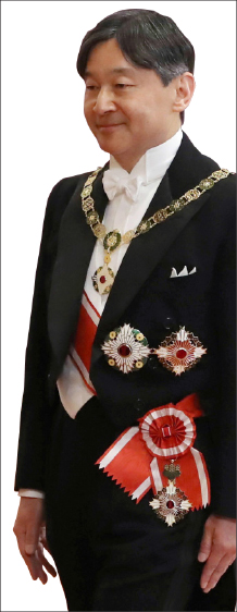 ▲ 일본 새국왕 나루히토