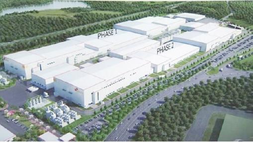 ▲ SK이노베이션은 지난 3월 19일 17억달러를 투입, 조지아주에 전기차배터리생산공장 건립에 돌입했다[조감도]