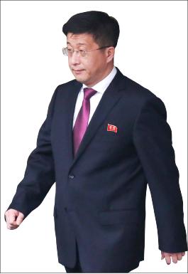 ▲  김혁철  북한대미특사