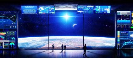 ▲ 달과 화성 등 외계토지를 판매하는 '루나 엠바시' 영상 장면