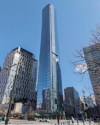 ▲ 김인주 전사장이 지난해 12월 743만달러에 매입한 맨해튼 콘도