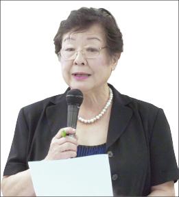 ▲ 김진희 임시 이사장