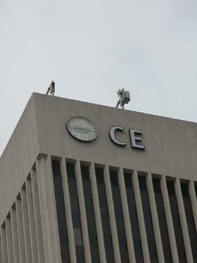 중앙은행 에퀴터블 빌딩 상단에 로고 새겨넣어…