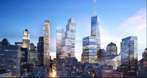▲ 투자이민 투자금을 유치해 건설중인 뉴욕 맨해튼 2월드트레이드센터