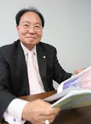 ▲ 독립운동 후손 김준배 이사장.