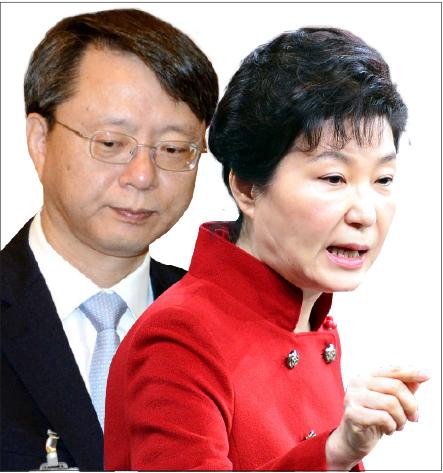 박근혜-우병우