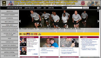 ▲ 샌안토니오소재 육군의무학교