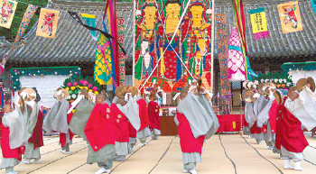 영산재 바라춤