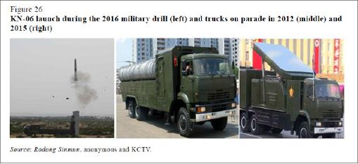 ▲북한이 군사퍼레이드에서 선보인 KN-06 미사일을 장착한 트럭 태백산96은 러시아와의 합작을 통해 평양에서 직접 생산한 것으로 밝혀졌다.