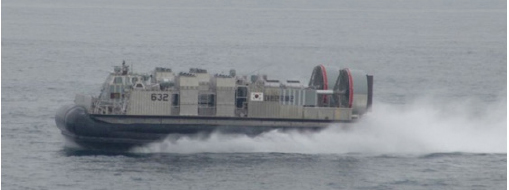 ▲ 2007년 진수된 고속상륙정 1번함