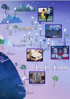 ▲ The Official La La Land Guide to Los Angeles