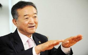 ▲ 홍성은 레이니어그룹 회장