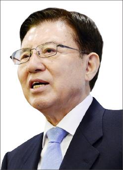 ▲김덕룡 수석부의장