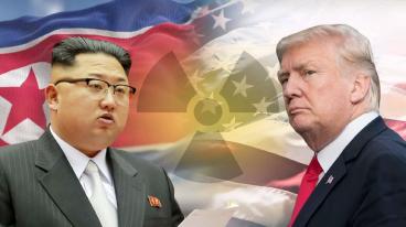 ▲ 북한 수소탄 실험으로 트럼프와 김정은이 최종 기싸움을 벌이고 있다.