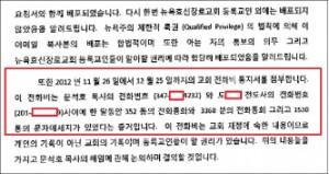 ▲ 효신장로교회신도 공동의회소집요청서