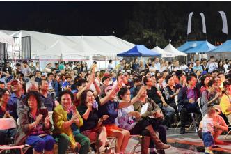 ▲ LA한인축제는 볼거리, 먹거리 그리고 체험의 축제장이다.