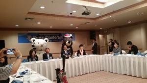 평창올림픽 홍보차 LA에 방문한 최문순 강원지사