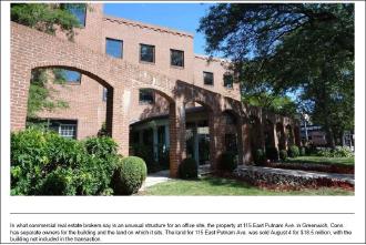 ▲ 김형권씨가 지난해 8월 1850만달러에 매입한 그리니치 부동산 사진 - 빌딩은 타인의 소유이며, 1.3에이커부지만 1850만달러에 사들였다.
