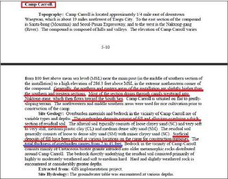 ▲ 국방부는 연방 상하원의 제출한 보고서에서 428개기지중 20개기지에서 과불화화합물이 과다검출됐으며, 이중 1개 기지는 음용수가 아니었다고 밝혔다.