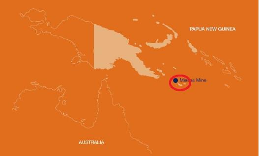 ▲ 파푸아뉴기니아지도 - 본섬 절반은 인도네시아이며 절반은 파푸아뉴기니아, 마시마섬은 파푸아뉴기니아수도에서 6백킬로미터 떨어져 있다.