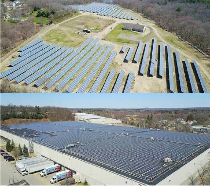 ▲ 시투에너지가 브로커로 나선 메사추세츠주의 태양열발전소