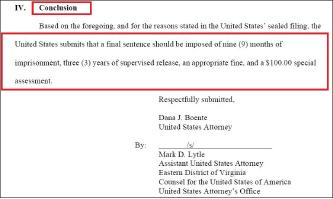 ▲ 검찰은 2018년 1월 19일 구형을 통해 징역 9월, 3년 보호관찰등을 구형했다.