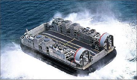 ▲ 지난 2007년 진수된 해군고속상륙정