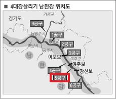 ▲ 대보건설은 4대강살리기 남한강공사의 5공구를 담당했다